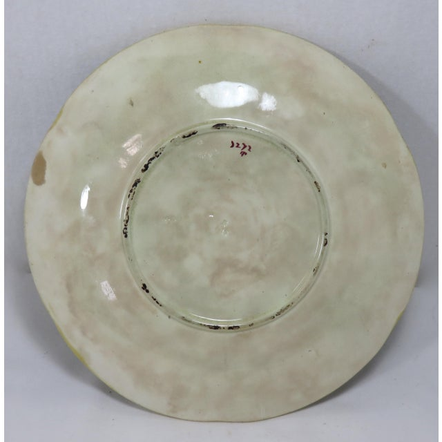 Antique Wedgwood Majolica Serving Dish Circa 1870s For Sale - Image 9 of 13