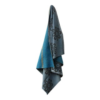 Forget-Me-Not Vintage Throw