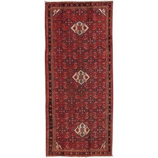"""Vintage Hamadan Wool Area Rug - 4'2"""" X 10'2"""" For Sale"""