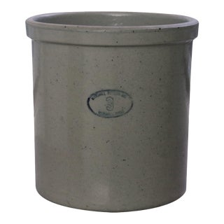 Earthenware Crock by Marshall Pottery, Texas For Sale