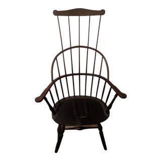 "Mid-19th Century Americana Comb Back Windsor ""Potty"" Chair"