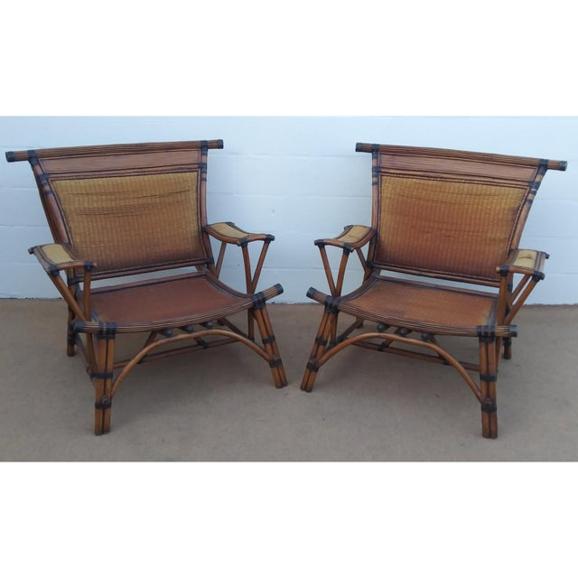 Majestic RARE PAIR OF STATEMENT WORTHY Colossal Club Chairs by none other than MARGE CARSON! Ridiculously large...
