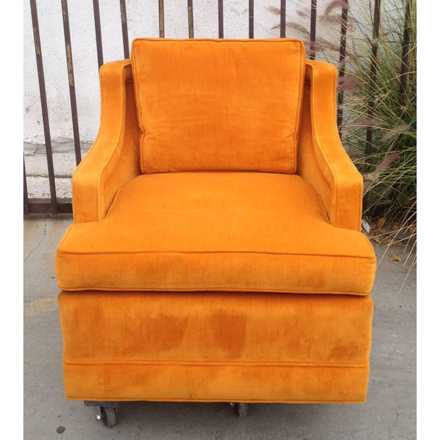 1960s Armchairs by Edward Wormley for Dunbar For Sale In Los Angeles - Image 6 of 7