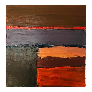 Contemporary Abstract Painting on Canvas Stan Edwards For Sale