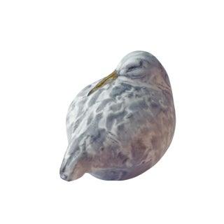 Andersen Design Sleeping Sandpiper Gray Figurine For Sale