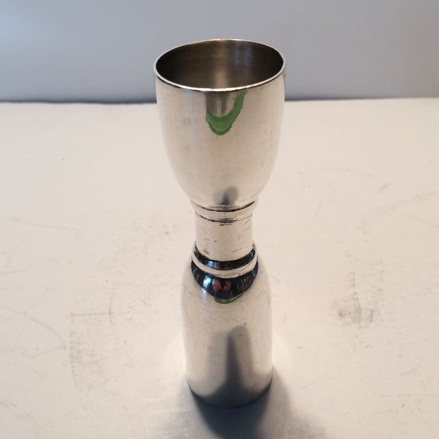 Antique Sterling Silver Cocktail Jigger - Image 3 of 9