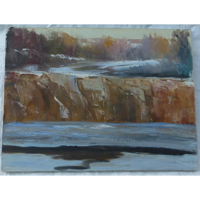 Abstract Waterfall Painting by H.L. Musgrave - Image 2 of 7