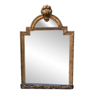 Antique 18th C Italian Gilt-Wood Mirror For Sale