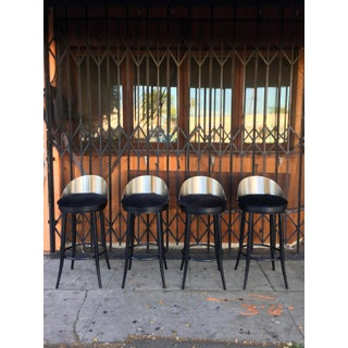 Modern Metal Barstools - Set of 2 Preview
