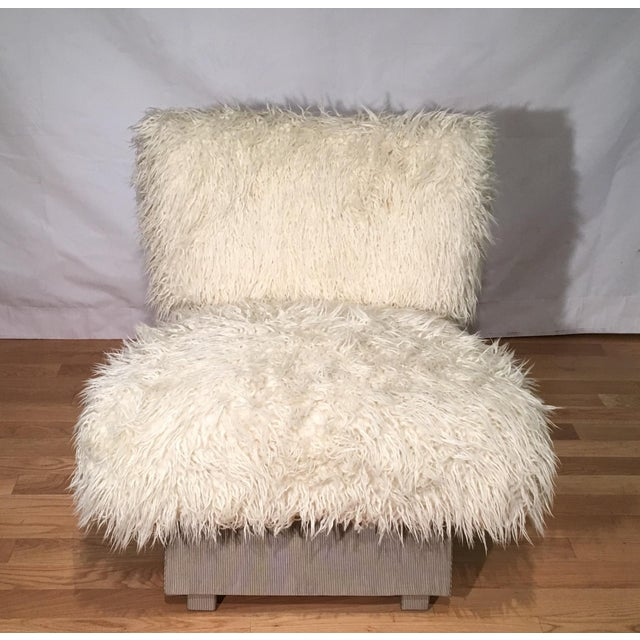 This wonderful chair is a genuine original designer chair by Randy Esada Designs. It is a very unusual hand made example...