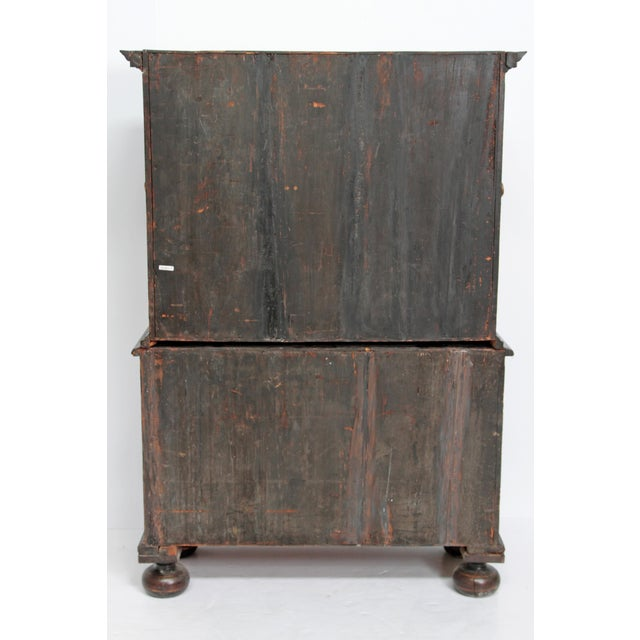 Queen Anne Collectors Cabinet / Japanned For Sale - Image 12 of 13