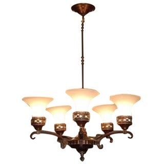 Restoration Hardware Chandelier Ceiling Lamp For Sale