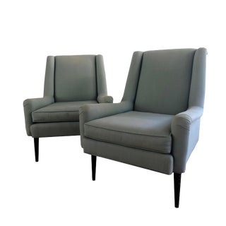 1960s Vintage Paul McCobb Lounge Chairs- A Pair For Sale