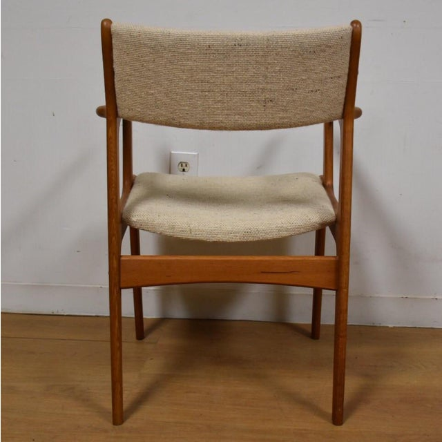 Mid-Century Teak Side Chair - Image 8 of 11