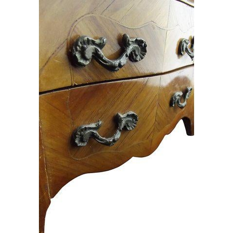 French Miniature Louis XIV Marble-Top Commode For Sale - Image 3 of 7
