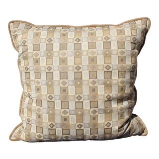 Mid-Century Down Filled Pillow For Sale