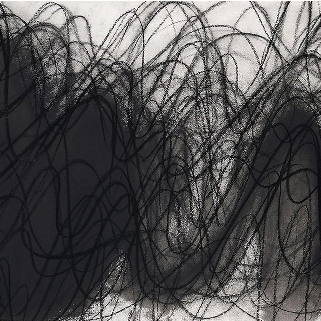 """Abstract Margaret Neill """"Manifest 2"""", Drawing For Sale - Image 3 of 4"""