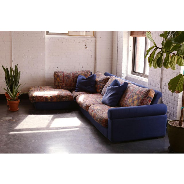 Great and unbelievably comfortable Roche Bobois sectional sofa (comes in two parts), likely from late 80's or early 90's....