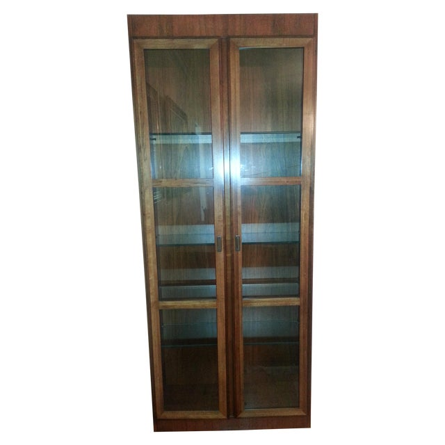 Mid-Century Modern Founders Crystal Cabinet - Image 6 of 8
