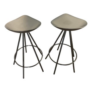 Pepe Cortes Jamaica Stools by Amat for Knoll - a Pair For Sale