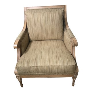 """Late 20th Century Ethan Allen """"Roma Style"""" Chair For Sale"""