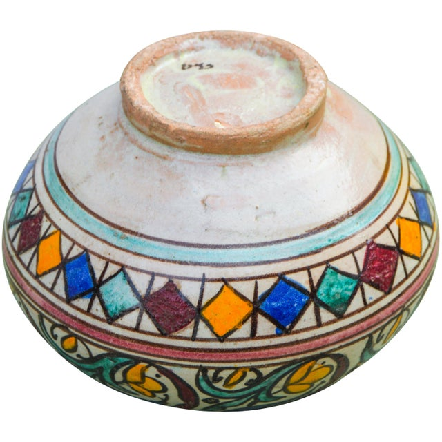 Ceramic Moroccan Ceramic Vase For Sale - Image 7 of 9