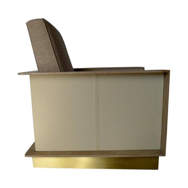 Max Modern Club Chair by Paul Marra For Sale