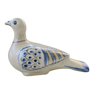 Mid-Century Studio Pottery Dove For Sale