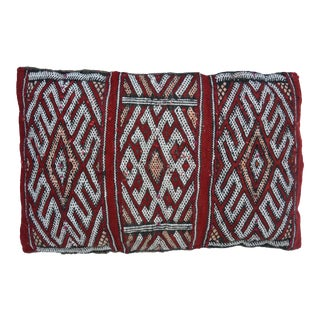 Handwoven Berber Pillow For Sale
