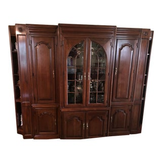 Harden Cherry Furniture China Cabinet For Sale