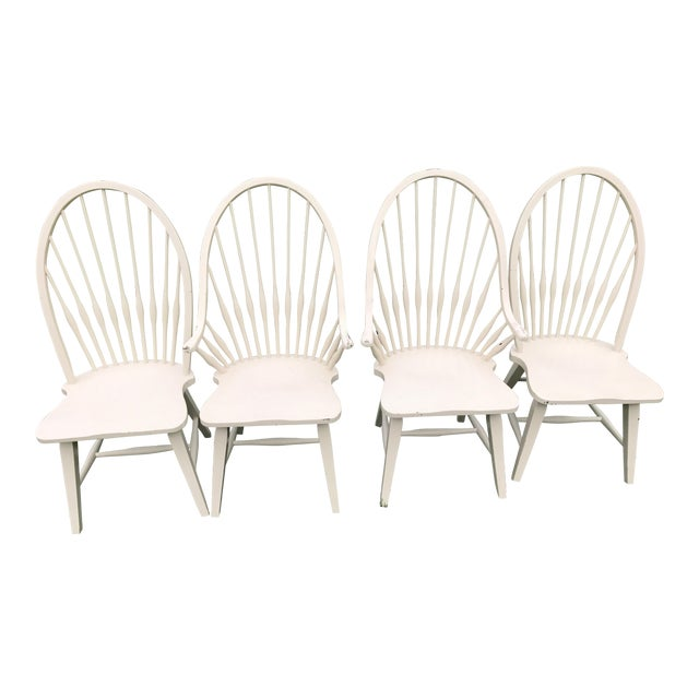 Farmhouse Windsor Chairs - Set of 4 - Image 1 of 9
