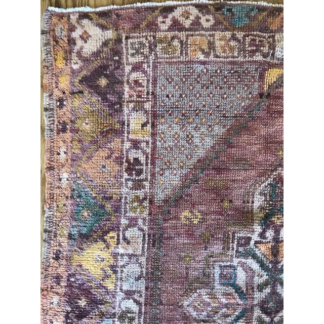 """A Turkish patina """"lo"""" rug with a brilliant blend of color and pattern."""
