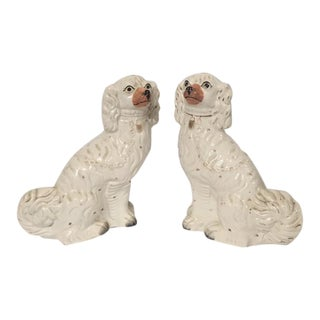 Circa 1880s Staffordshire Dogs - A Pair