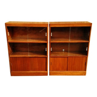 Nucraft Mid-Century Modern Stack Bookcases - a Pair
