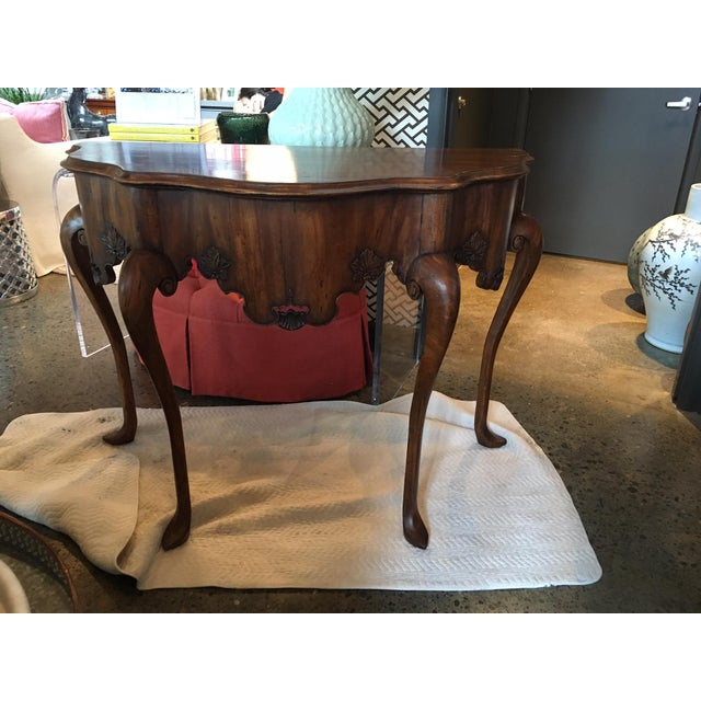 Calda Mexican Chippendale Console - Image 6 of 9
