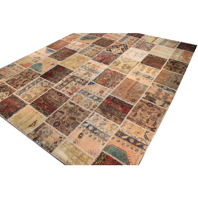 Anatolian Patchwork Rug - 9′4″ × 11′10″ For Sale - Image 5 of 6