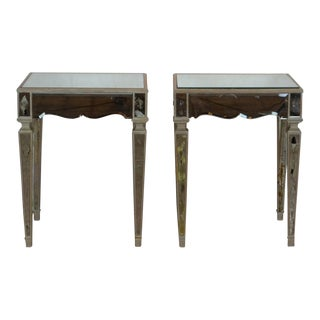 Venetian Style Nightstands-A Pair For Sale