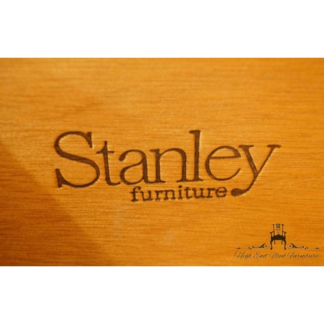 Late 20th Century Vintage Stanley Furniture French Regency Style Armoire For Sale - Image 11 of 13