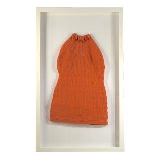 Framed Vintage Cinnamon Swim Suit