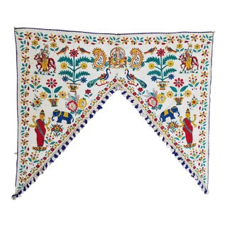 Vintage Indian Door Hanging For Sale