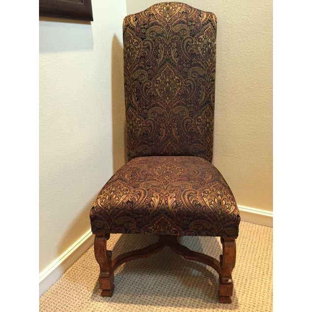 Stanley Upholstered Dining Chairs - Set of 8 - Image 3 of 6