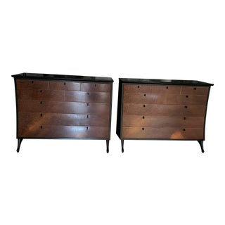 Giorgetti Rosewood Dressers - A Pair For Sale