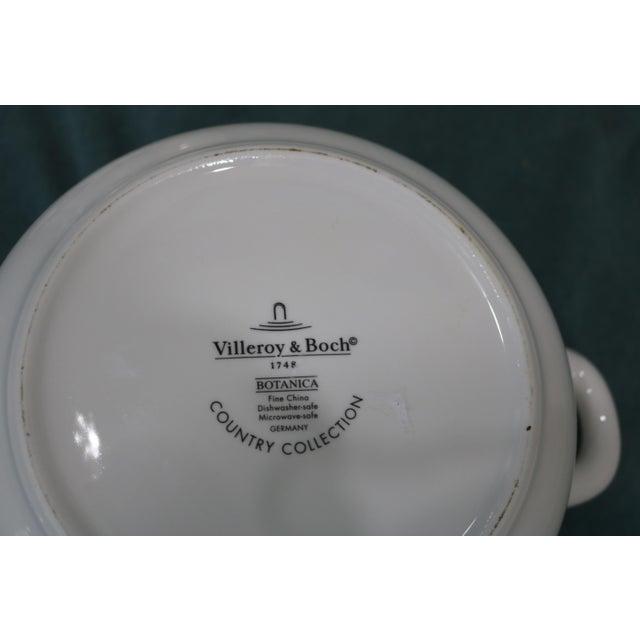 Vintage Villeroy & Boch Botanica Covered Vegetable Serving Bowl For Sale In Charlotte - Image 6 of 7
