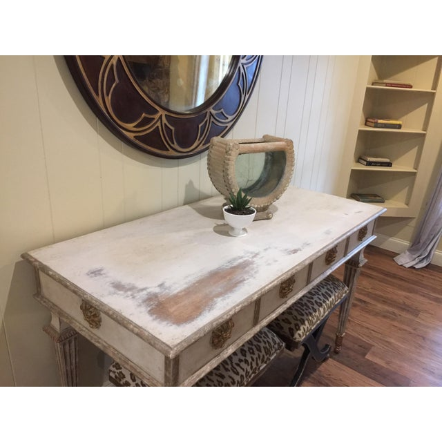Hollywood Regency Hollywood Regency Amy Howard Mimi Console For Sale - Image 3 of 8