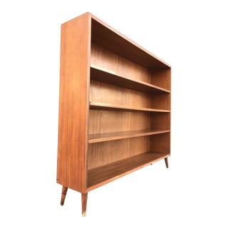 Beautiful Mid Century Bookcase Made in Denmark For Sale