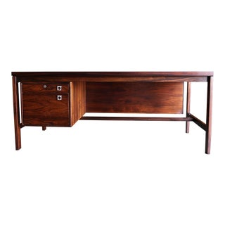 Arne Vodder Rosewood Desk for h.p. Hansen Circa 1960 For Sale