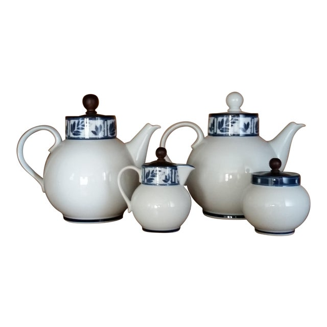 Dansk Ceylon Coffee & Tea Set - Set of 4 - Image 1 of 4