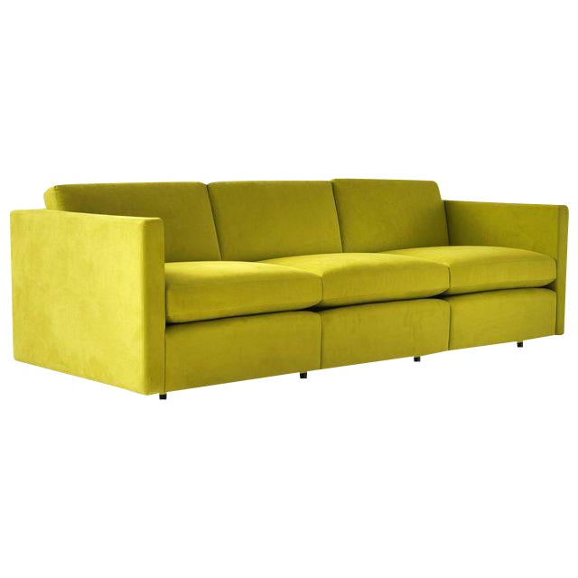 Charles Pfister Three-Seat Sofa for Knoll - Image 1 of 6