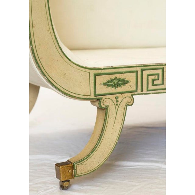 1920s Hollywood Regency Settee For Sale - Image 4 of 5