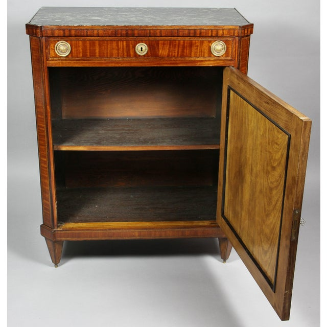 Dutch Neoclassical Satinwood and Japanned Cabinet For Sale In Boston - Image 6 of 13